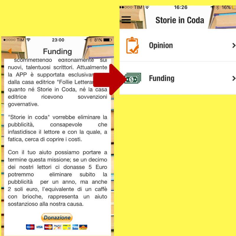 Funding per Storie in Coda