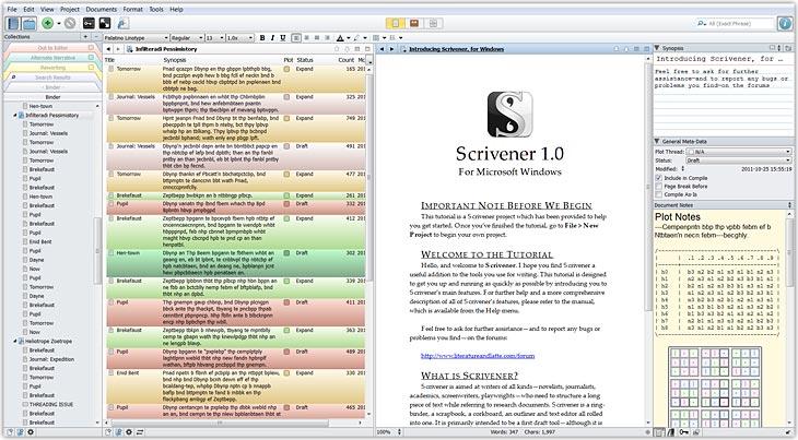 Scrivener: 5 motivi per cui va usato