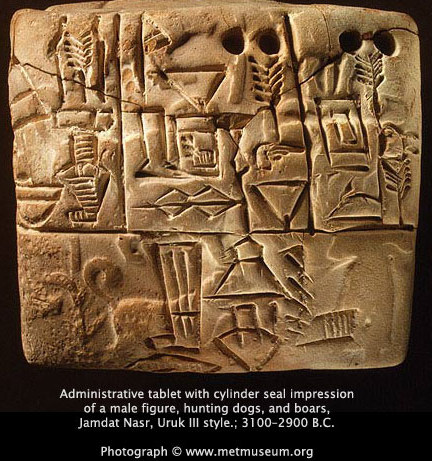 scrittura origini