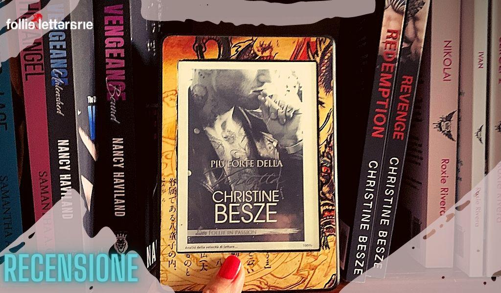 Più forte della vendetta -Christine Besze- Recensione